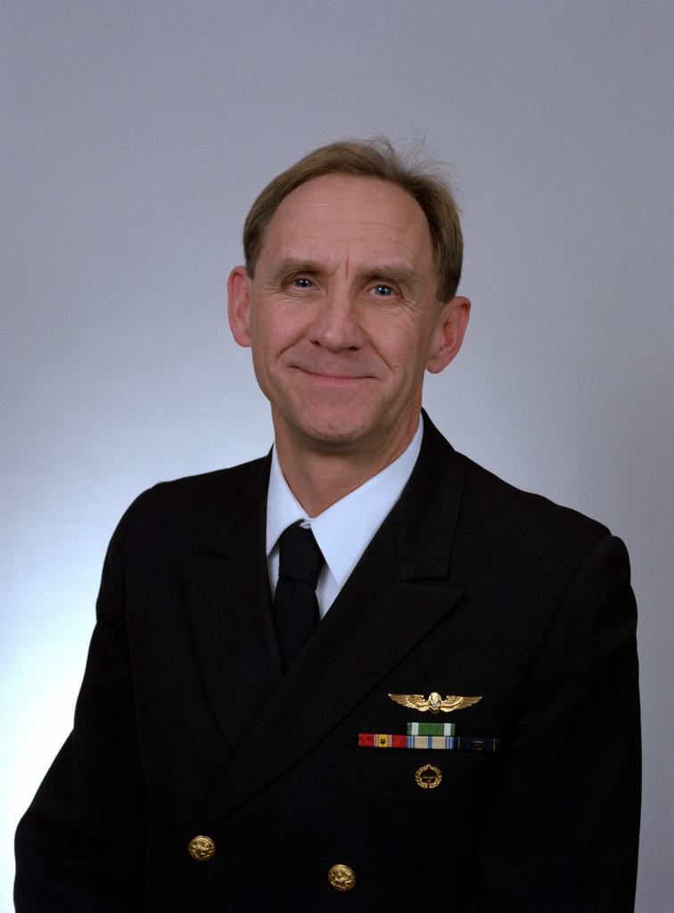 Jan H. Nyboer, USN (1994 Rear Admiral Selectee)