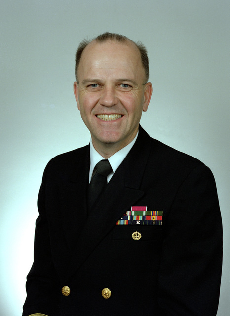 Jerry K. Johnson, USN (1994 Rear Admiral Selectee)