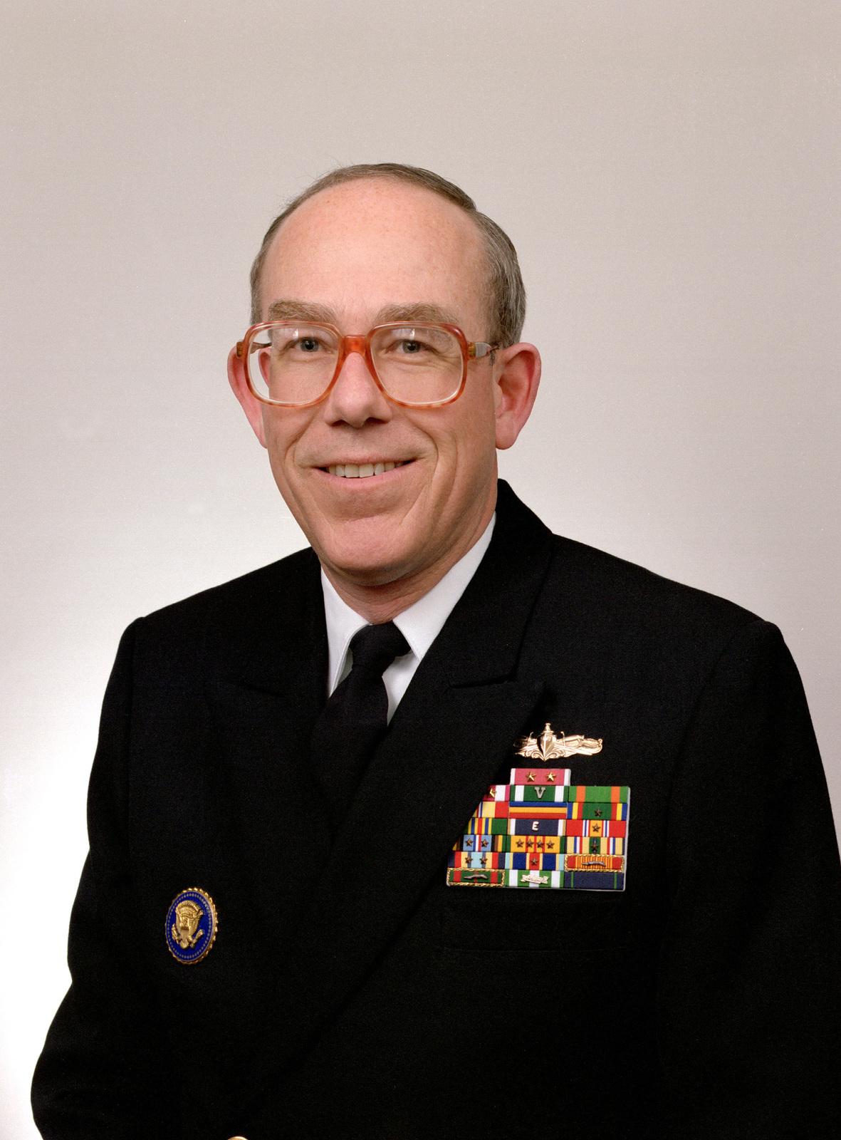 William R. Schmidt, USN (1994 Rear Admiral Selectee)