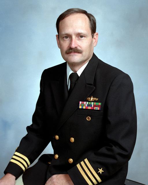 Commander Edward Gardiner, USN