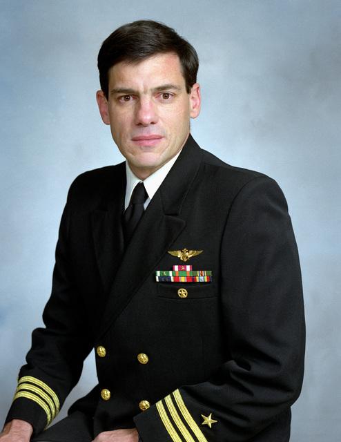 Commander Gerard Mauer, Jr., USN