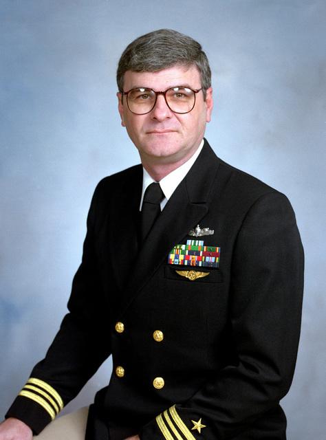 Lieutenant Commander C. R. Clifton, USN