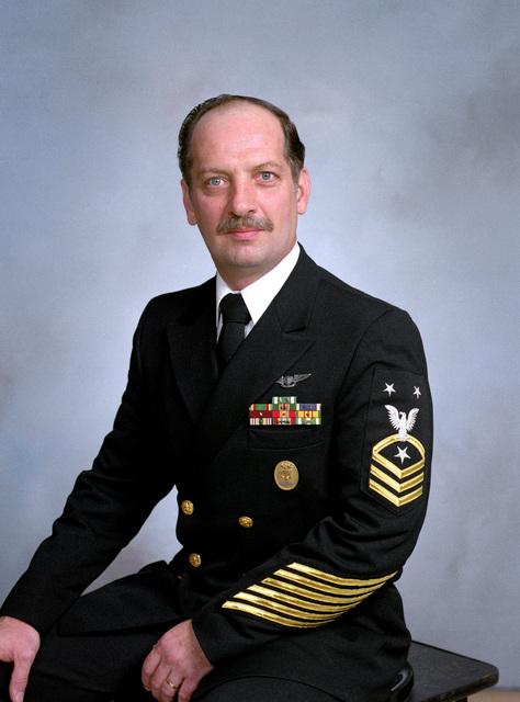 MASTER CHIEF (Aviation Maintenance Administrationman) Arthur Hill, USN