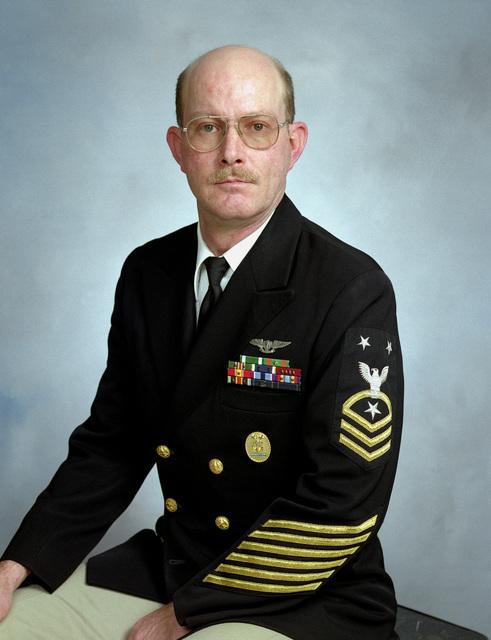 MASTER CHIEF (Aviation Maintenance Administrationman) Daniel Whitehead, USN