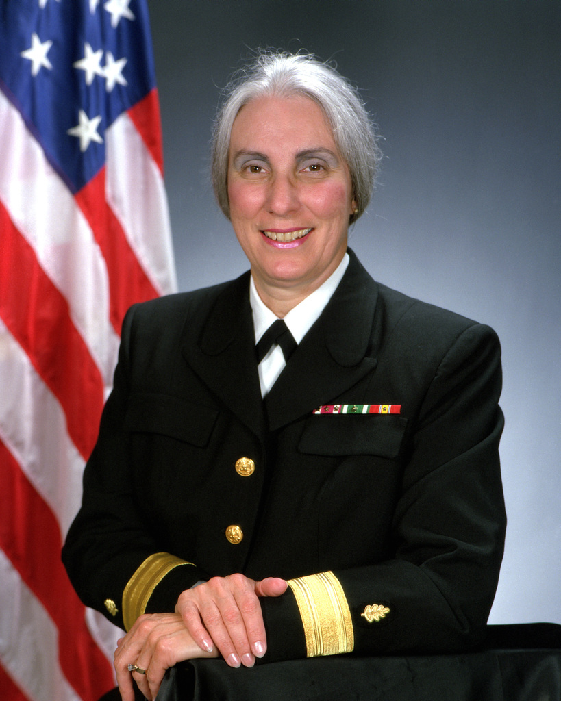 Rear Admiral (lower half) Joan M. Engel, USN