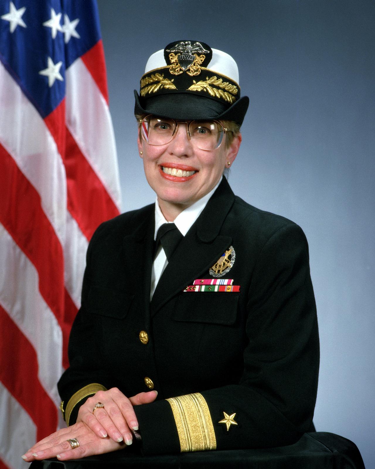 Rear Admiral (lower half) Katherine L. Laughton, USN