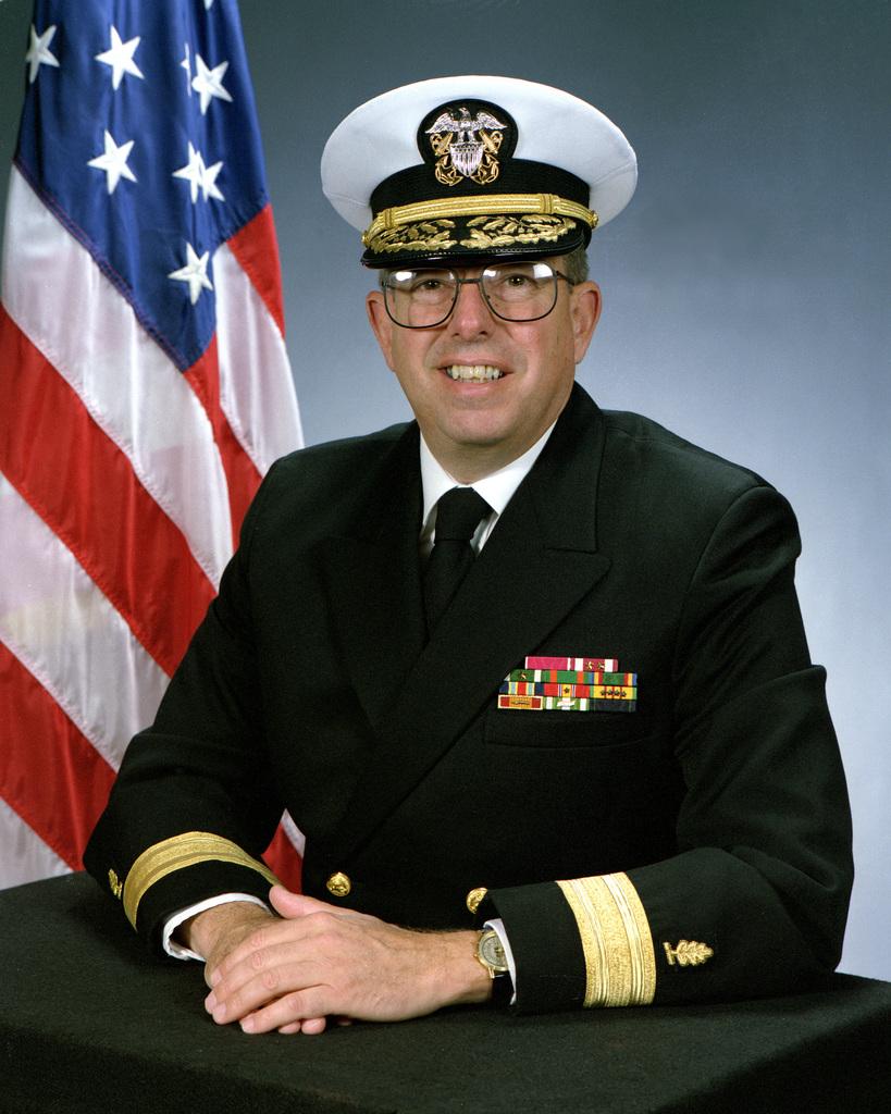 Rear Admiral (lower half) Steplhen t. Fisher, USN