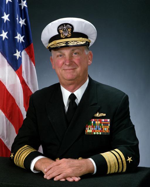Vice Admiral Philip M. Quast, USN