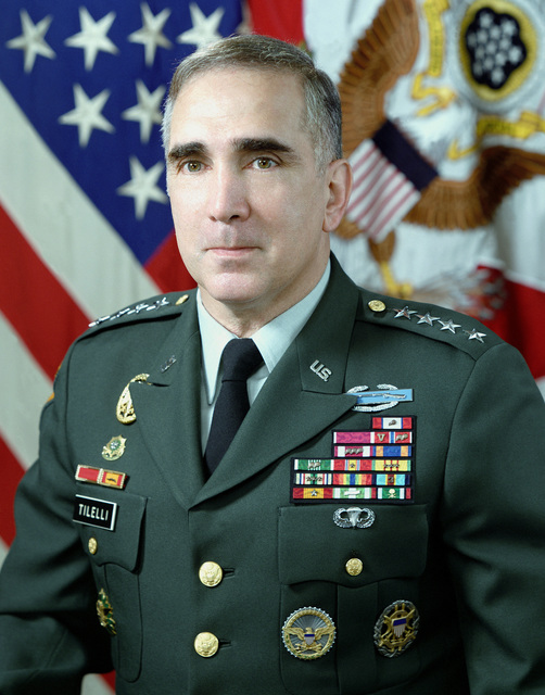General John H. Tilelli Jr., Vice CHIEF of STAFF of the Army (uncovered)