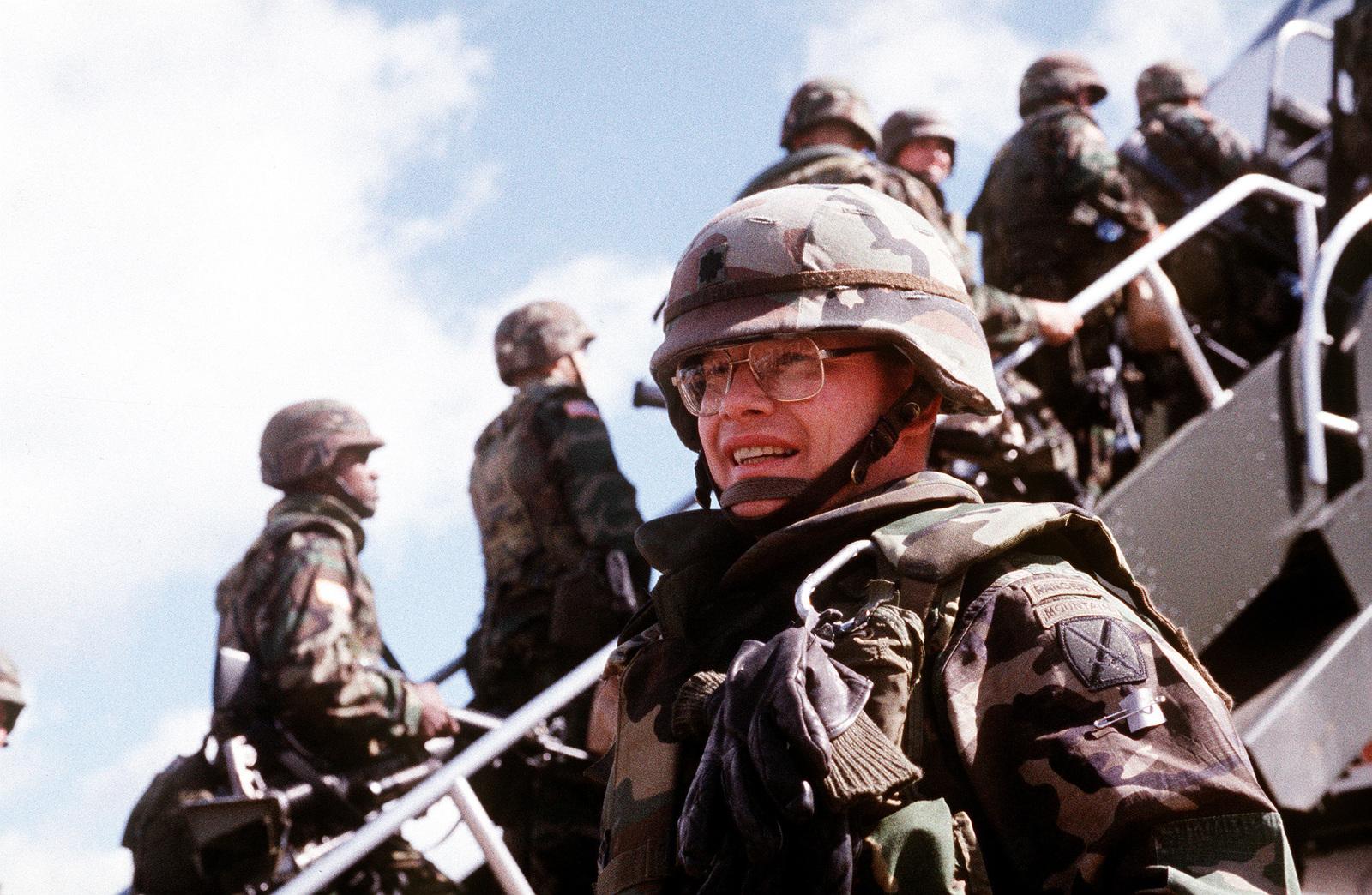 LT  COL  Hawrylak, 1ST Platoon, 22nd Infantry, Fort Drum, NY