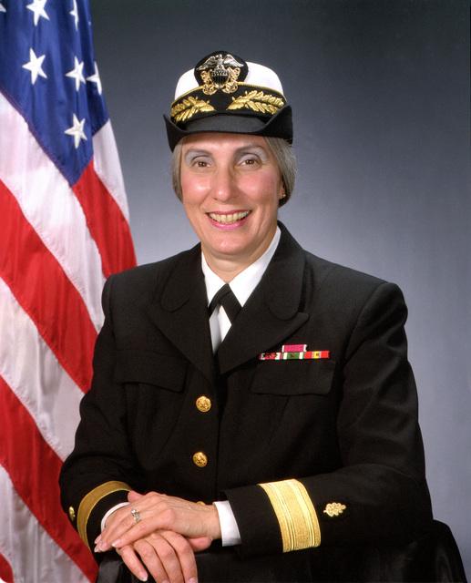 Rear Admiral (lower grade) Joan M. Engel, USN