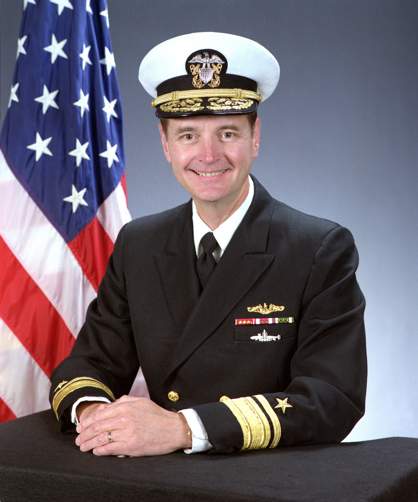 Rear Admiral (upper grade) Richard A. Riddle, USN
