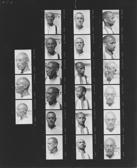 Photograph of Prisoners at Dachau Concentration Camp