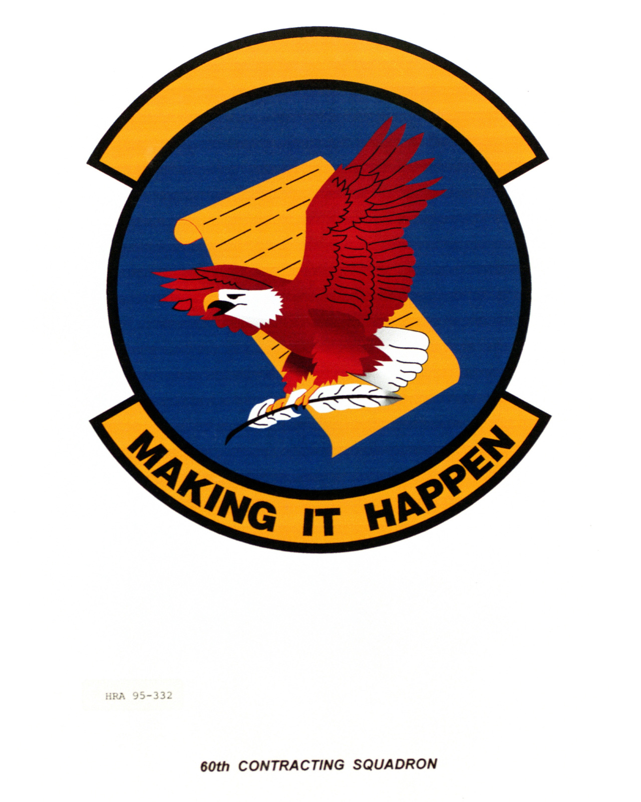 Approved Insignia for the 60th Contracting Squadron Exact Date Shot Unknown