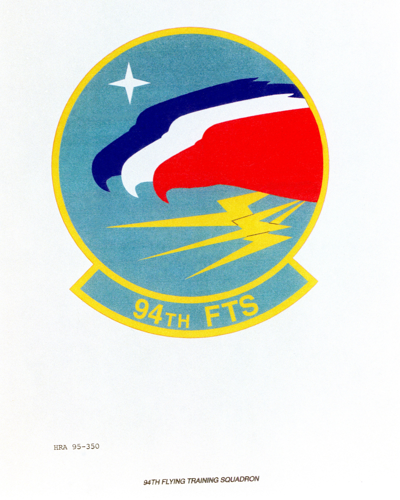 Approved Insignia for the 94th Flying Training Squadron Exact Date Shot Unknown