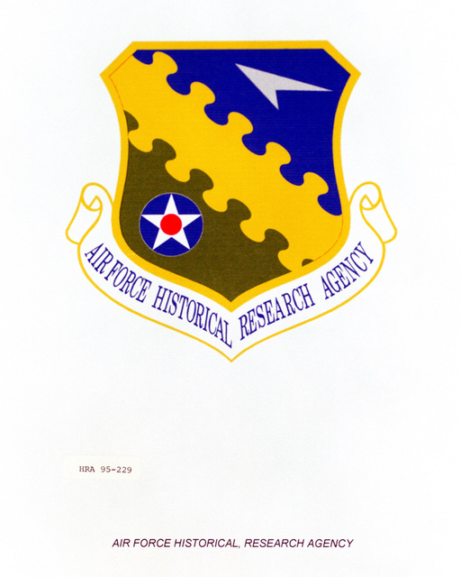 Approved Insignia for the Air Force Historical Research Agency Exact Date Shot Unknown