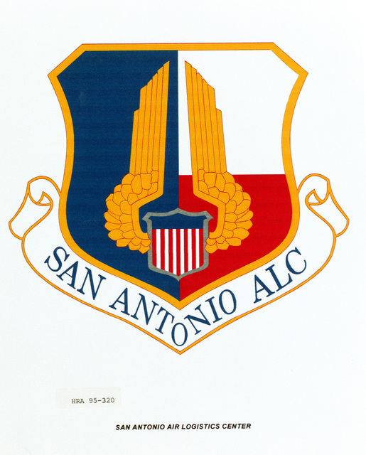 Approved Insignia for the San Antonio Air Logistics Center Exact Date Shot Unknown