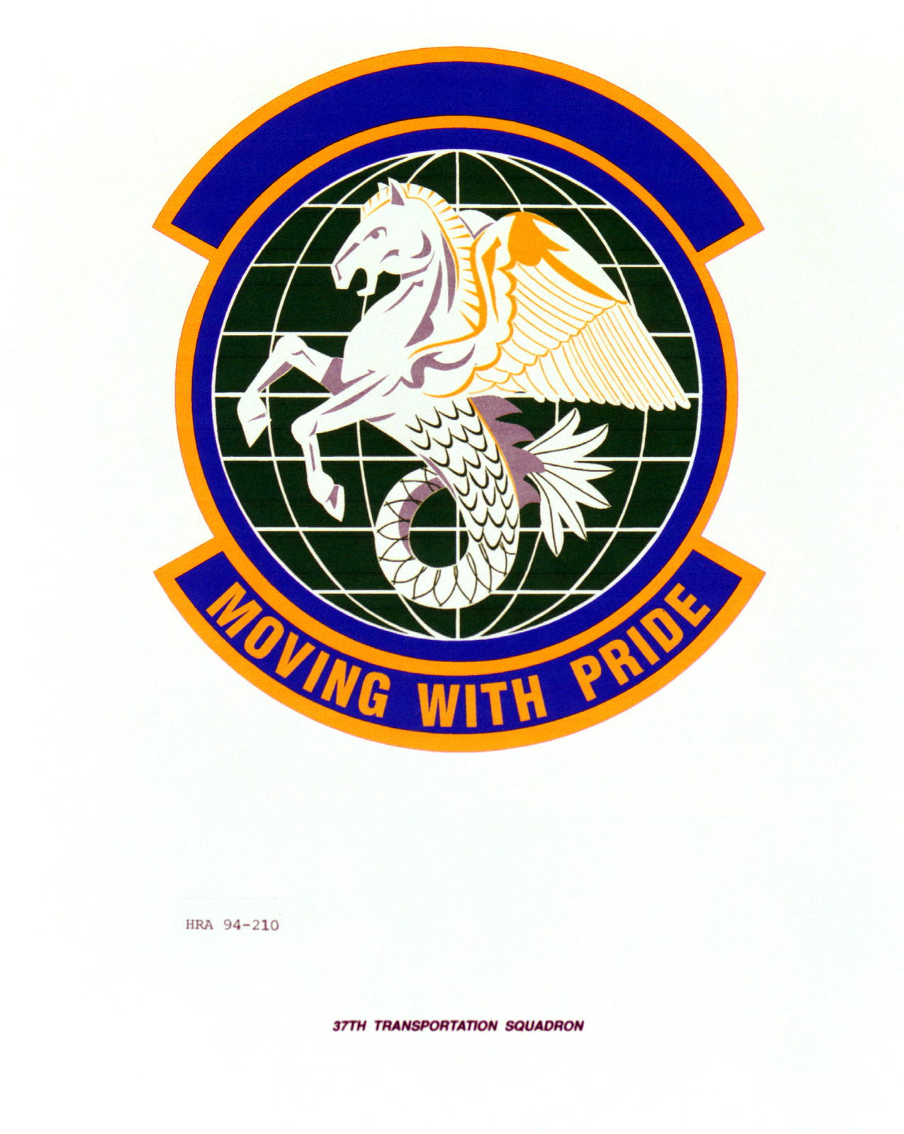 Approved Insignia of the 37th Transportation Squadron