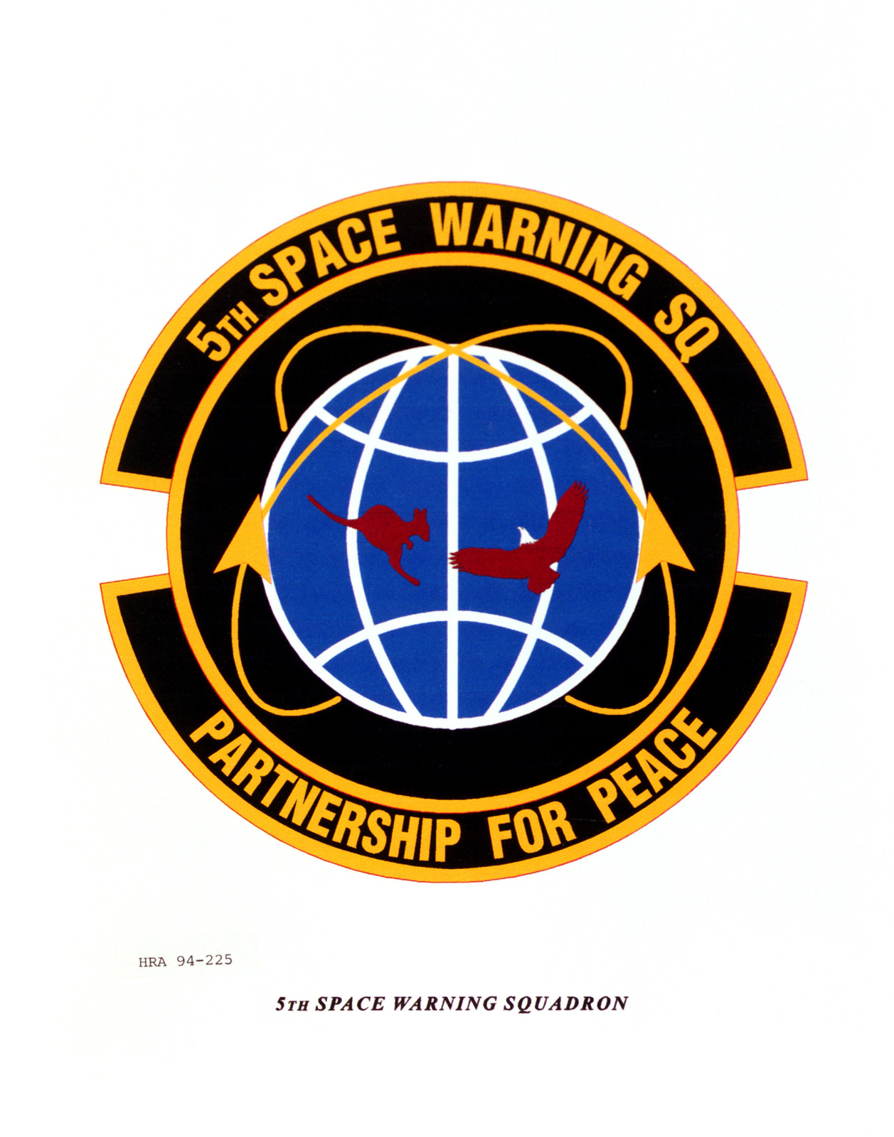 Approved Insignia of the 5th Space Warning Squadron