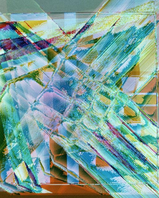 """Artwork: """"Air Force Painting VII"""". Artist: Herb Beerman"""