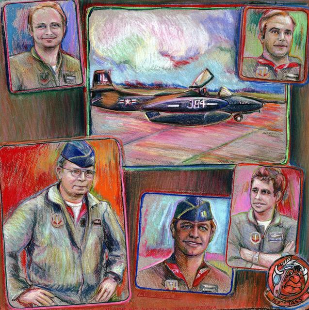 "Artwork: ""Illinois Air National Guard - Peoria"". Artist: Lisa Ross-Miller, USAF Art Collection"