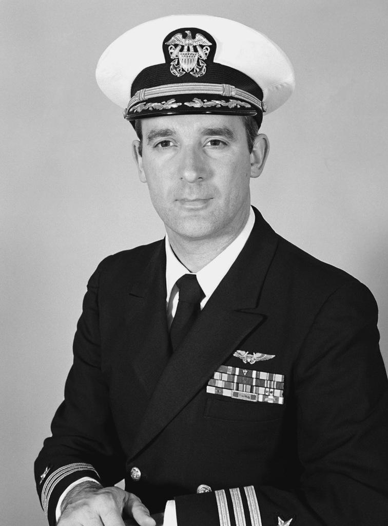 Commander (CDR) Ken S. Pickle, USN (covered)