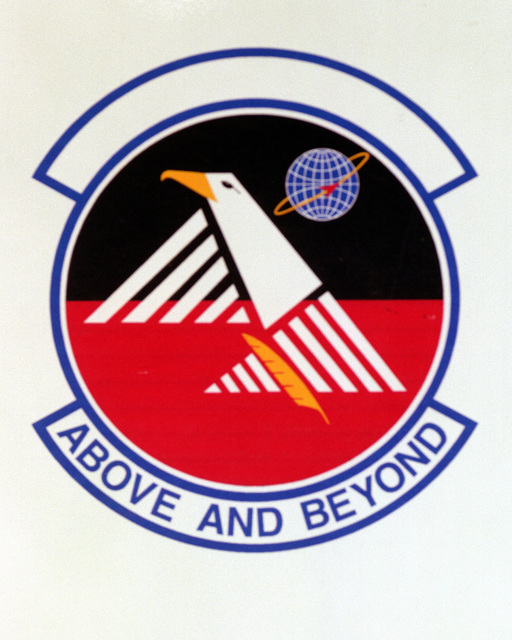 Patch designed and shot at MAXWELL AIR FORCE BASE, ALABAMA, USA - AIR FORCE ORGANIZATIONAL EMBLEMS - 1995...45th Contracting Squadron - Exact date shot unknown. Air Force Historical Research Agency, 95-247
