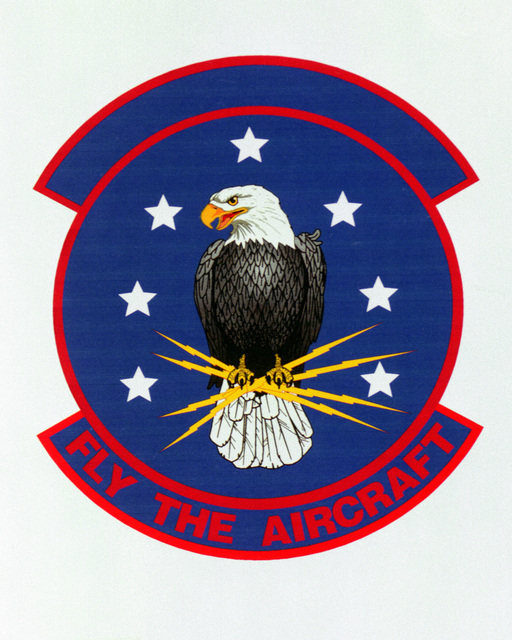 Patch designed and shot at MAXWELL AIR FORCE BASE, ALABAMA, USA - AIR FORCE ORGANIZATIONAL EMBLEMS - 1995...97th Training Squadron - Exact date shot unknown. Air Force Historical Research Agency, 95-238