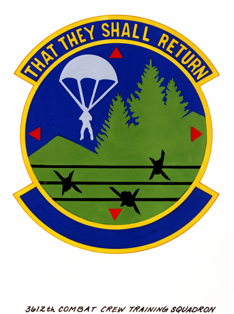 Approved insignia for: 3612th Combat Crew Training Squadron