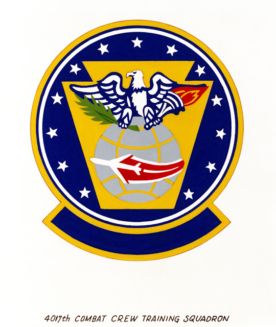 Approved insignia for: 4017th Combat Crew Training Squadron