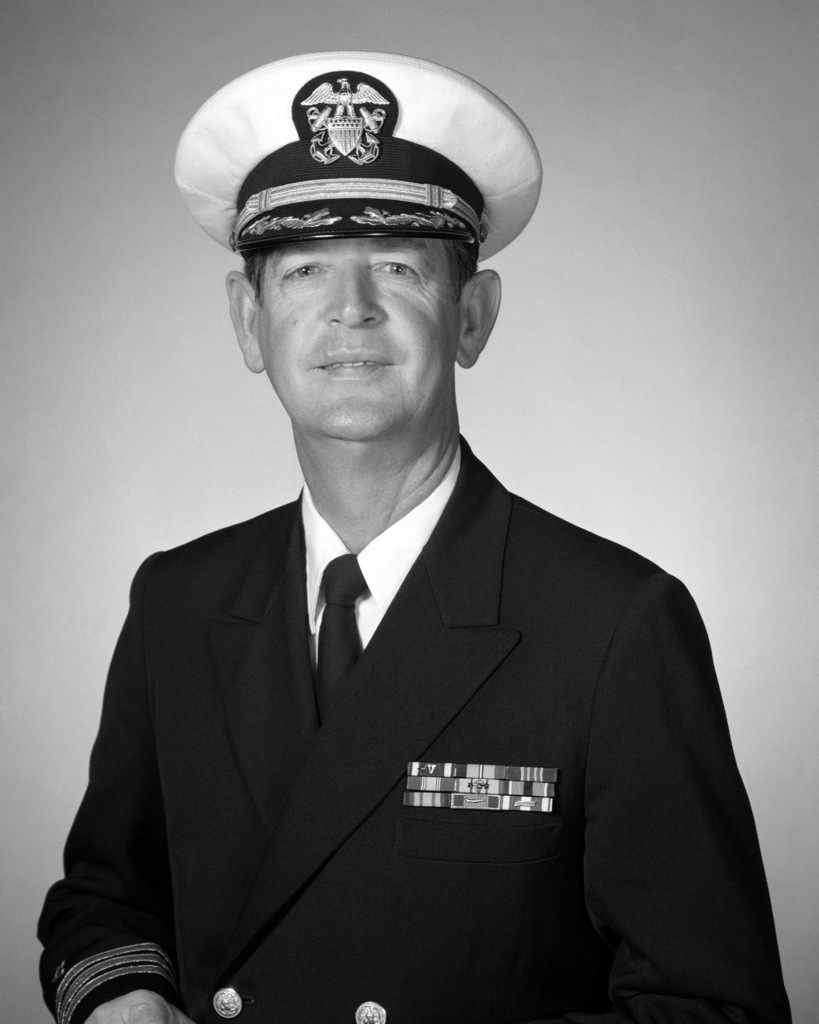 Commander Irvin H. Thompson, USN (covered)