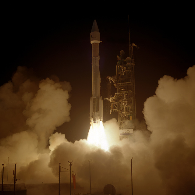 A Martin Marietta Atlas IIAS/AC 113 is successfully launched from Complex 36B at 1:18 A.M. EST. It is carrying INTELSAT VII #2 into orbit