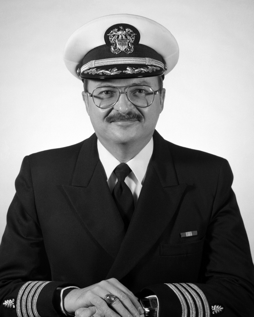Commander Bruce L. Bosworth, USN (covered)