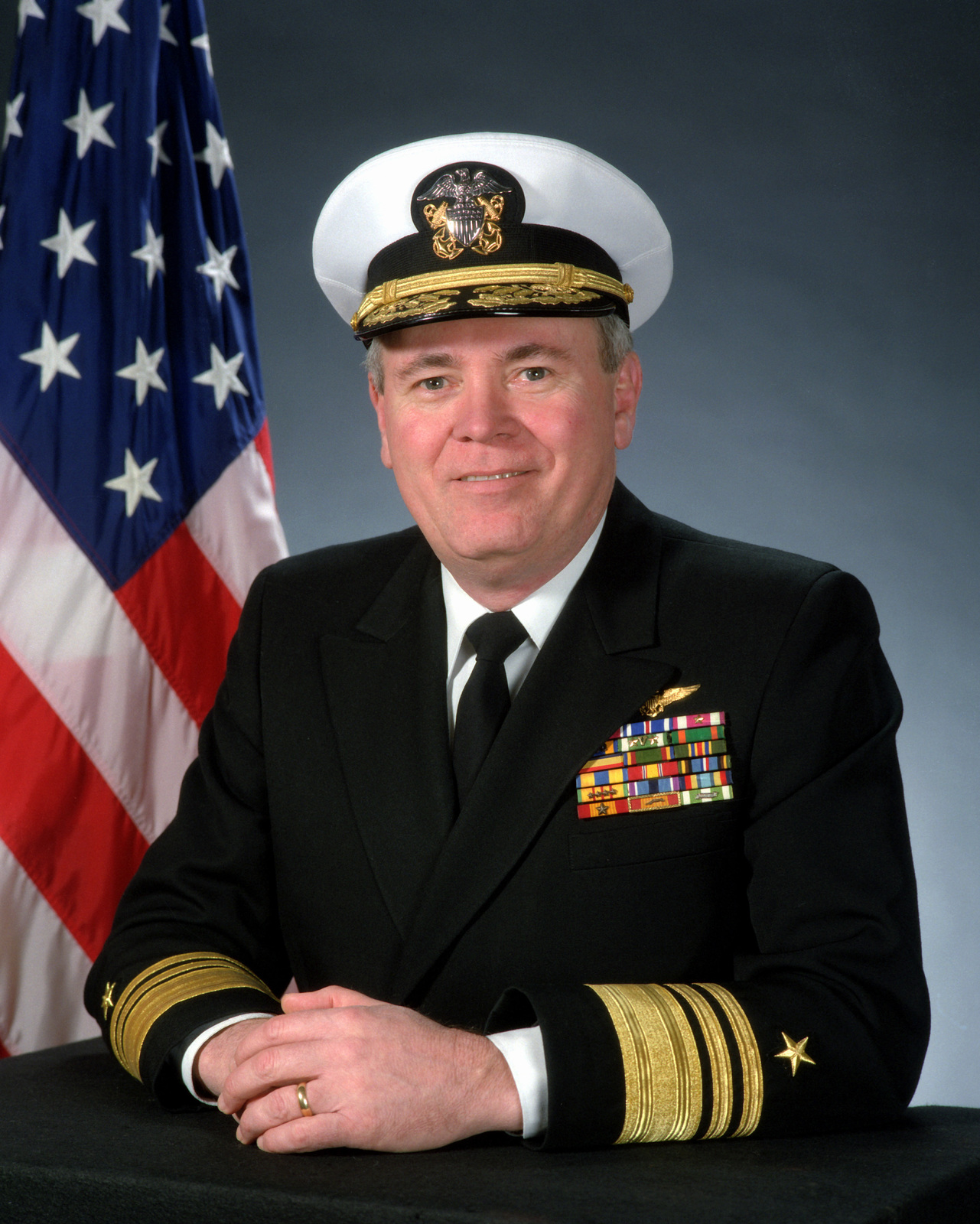 Vice Admiral John A. Lockard, USN(covered)