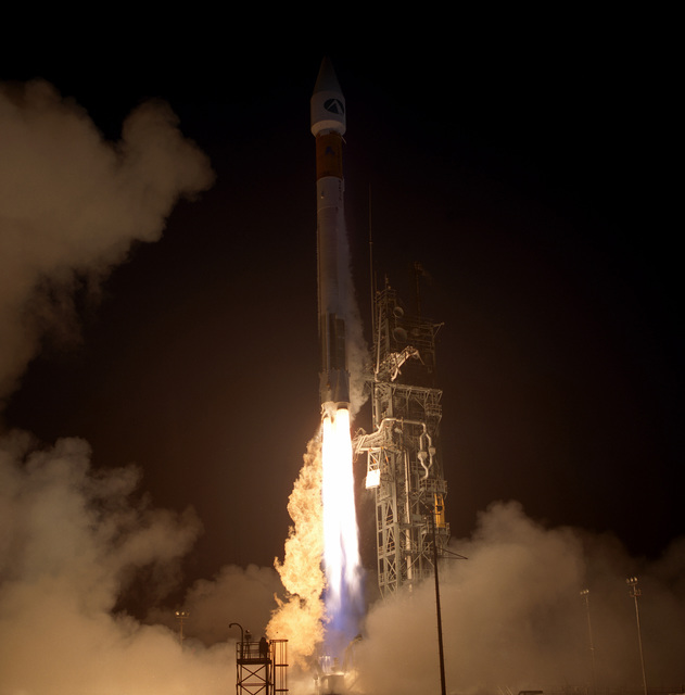 A Lockheed Martin Atlas IIA/AC114 is successfully launched from Complex 36A at 7:48 P.M. EST. It is carrying the Mobile Communications Satellite (MSAT) into orbit