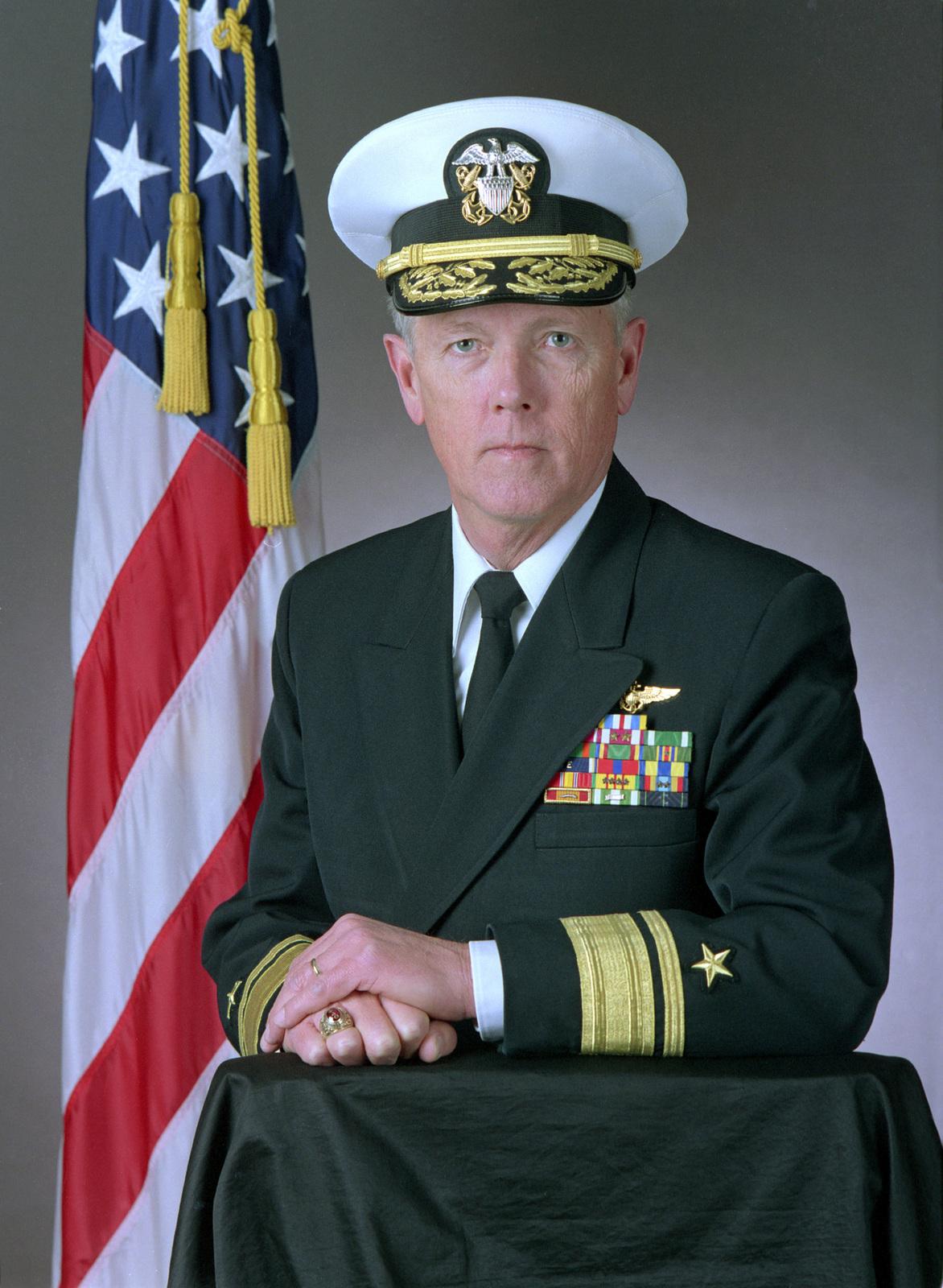 Rear Admiral (upper half) Joseph S. Walker, USN