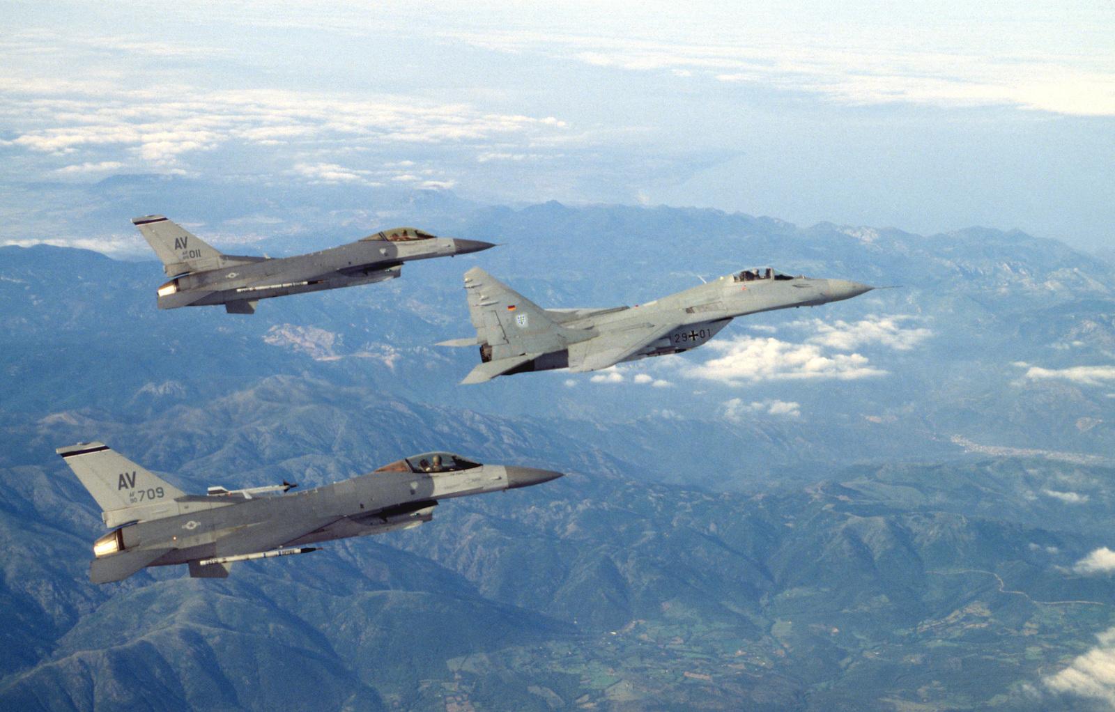 F 16 Aviano Italy