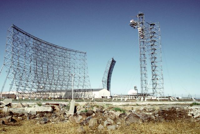 Antenna field at Incirlik Air Station, Turkey