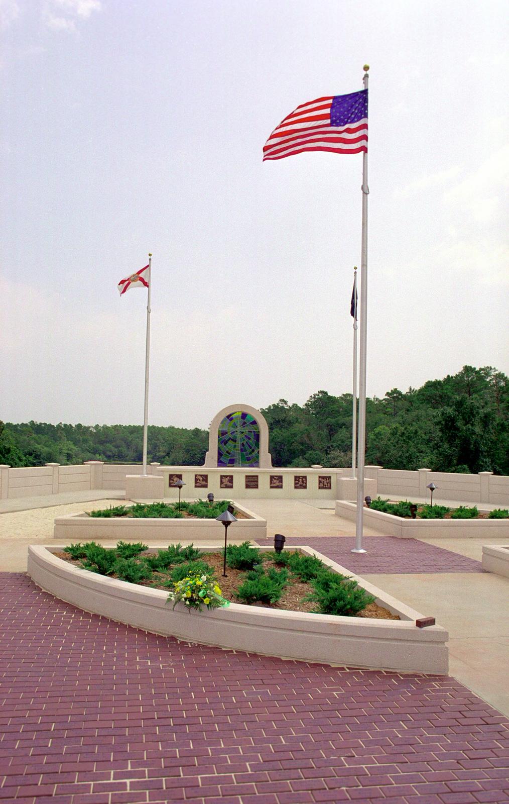 The All Veterans Memorial located at Memorial Lake on Eglin