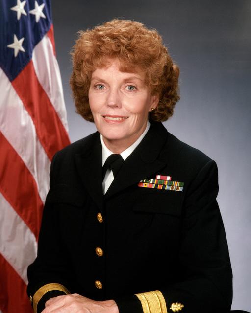 Rear Admiral (lower half) Nancy A. Fackler, USN