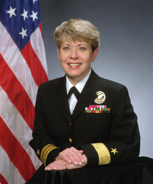 Rear Admiral (lower half) Veronica Z. Froman, USN