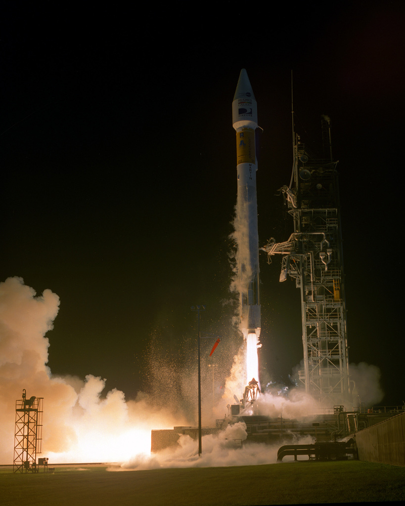A commercial Lockheed Martin Astronautics IIA Space Launch Vehicle, designated 120, carrying the Galaxy III-R broadcast satellite was successfully launched from Space Launch Complex 36A, Cape Canaveral Air Station, Florida, at 1923 hrs, EST
