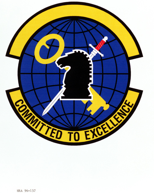 Air Force Organizational Emblem. 426th Intelligence Squadron Exact Date Shot Unknown