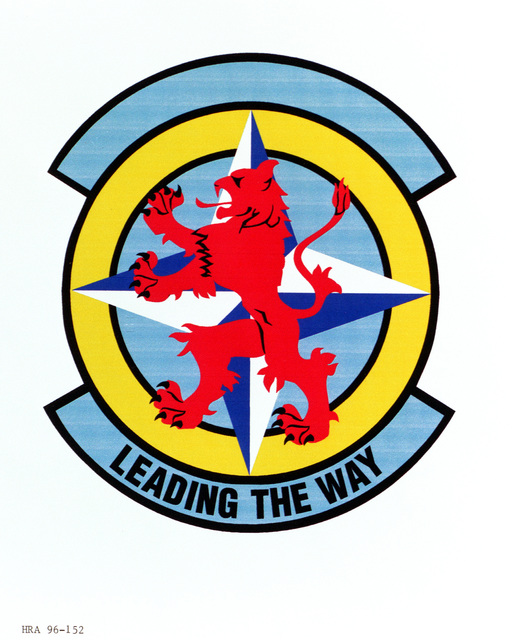 Air Force Organizational Emblem. 617th Munitions Support Squadron Exact Date Shot Unknown