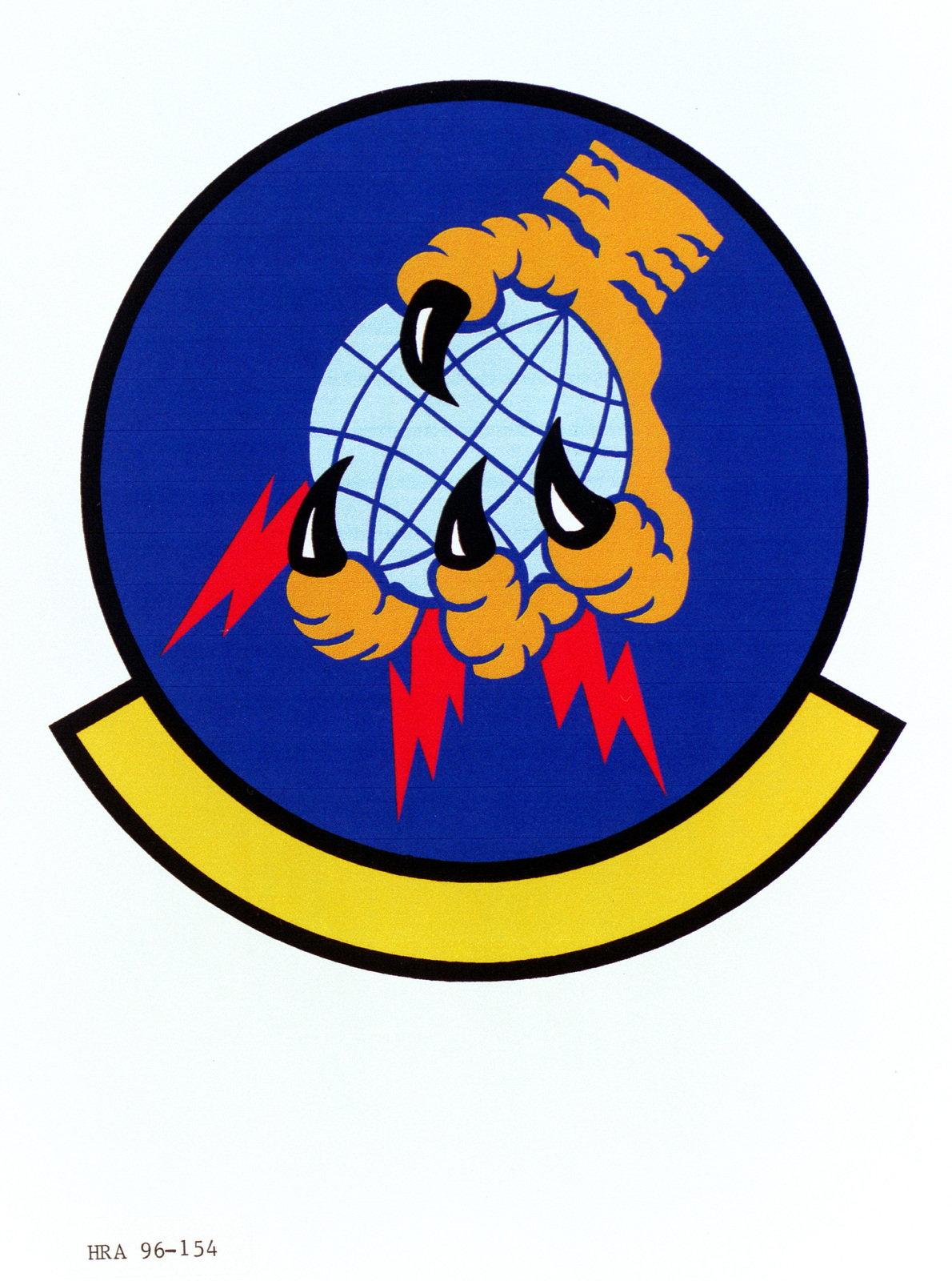 Air Force Organizational Emblem. 752nd Computer Systems Squadron Exact Date Shot Unknown