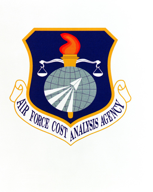 AIR FORCE ORGANIZATIONAL EMBLEM Air Force Cost Analysis Agency Exact Date Shot Unknown