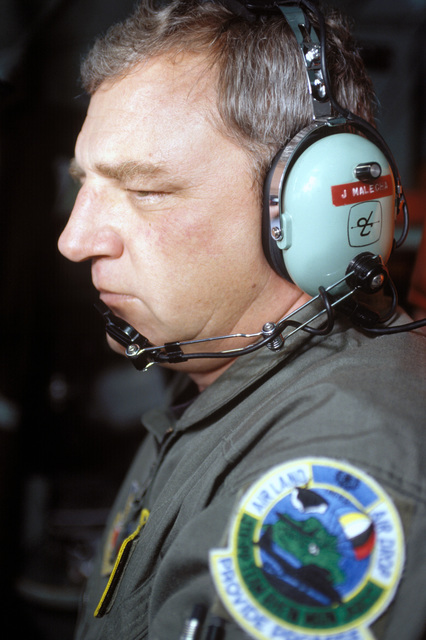 Portrait of MASTER SGT. John Malecha, C-130 Flight Engineer. MASTER SGT. Malecha is assigned to the 133rd Airlift Wing, Minnesota Air National Guard, St. Paul, Minn