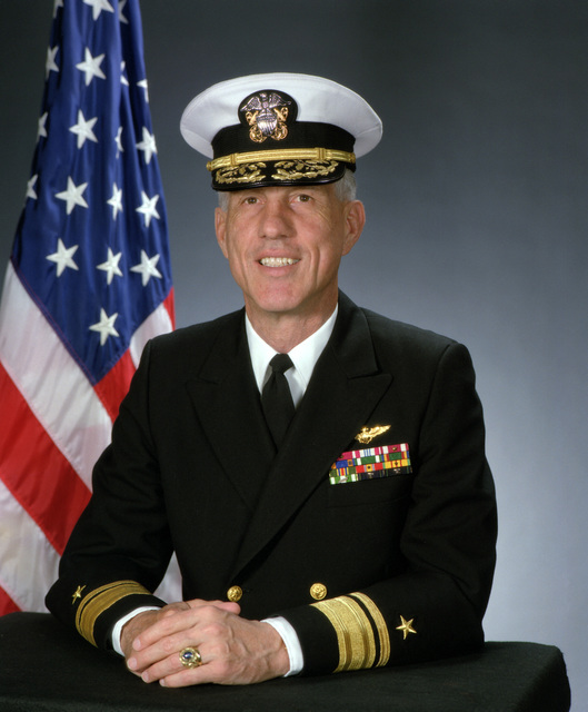 Rear Admiral (upper half) Barton D. Strong, USN