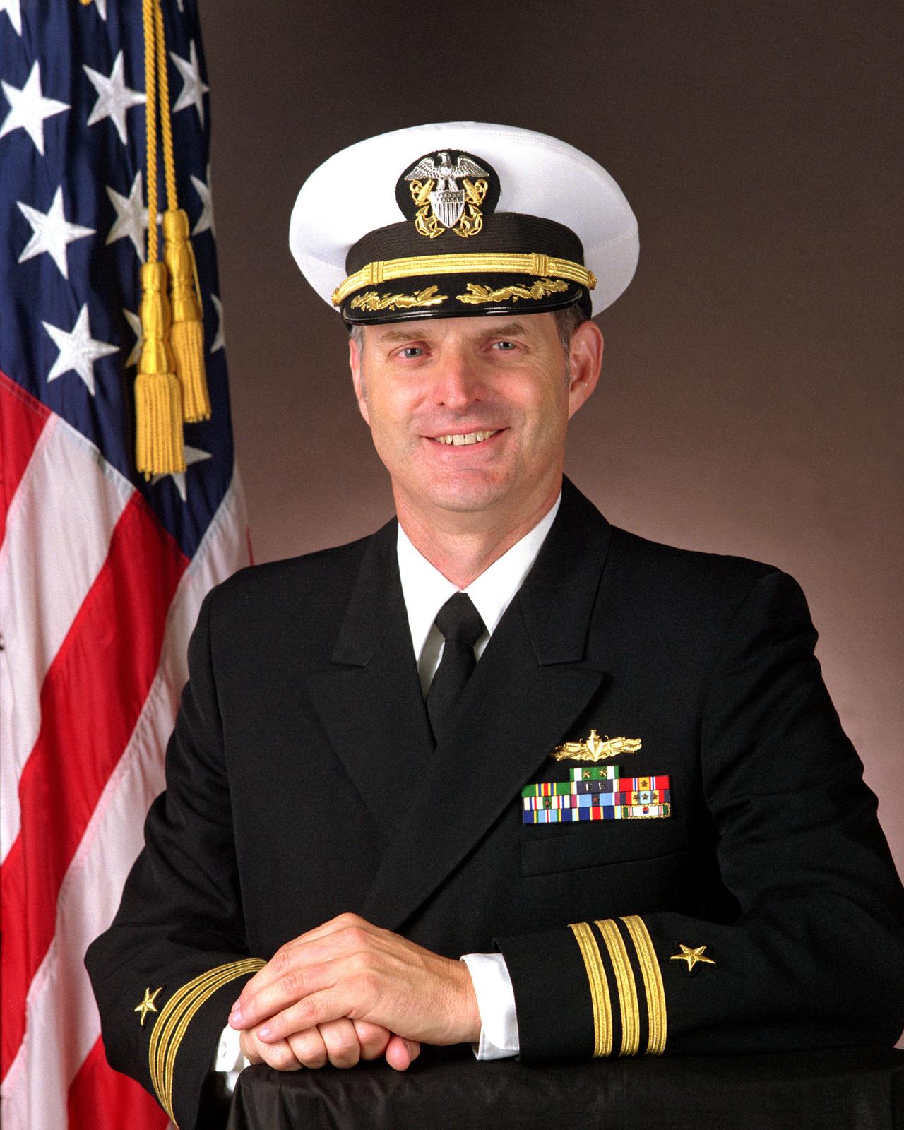 Commander James L. Warren, USN