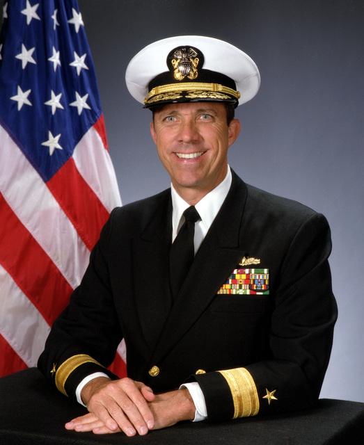 Rear Admiral (lower half) J. Cutler Dawson, USN